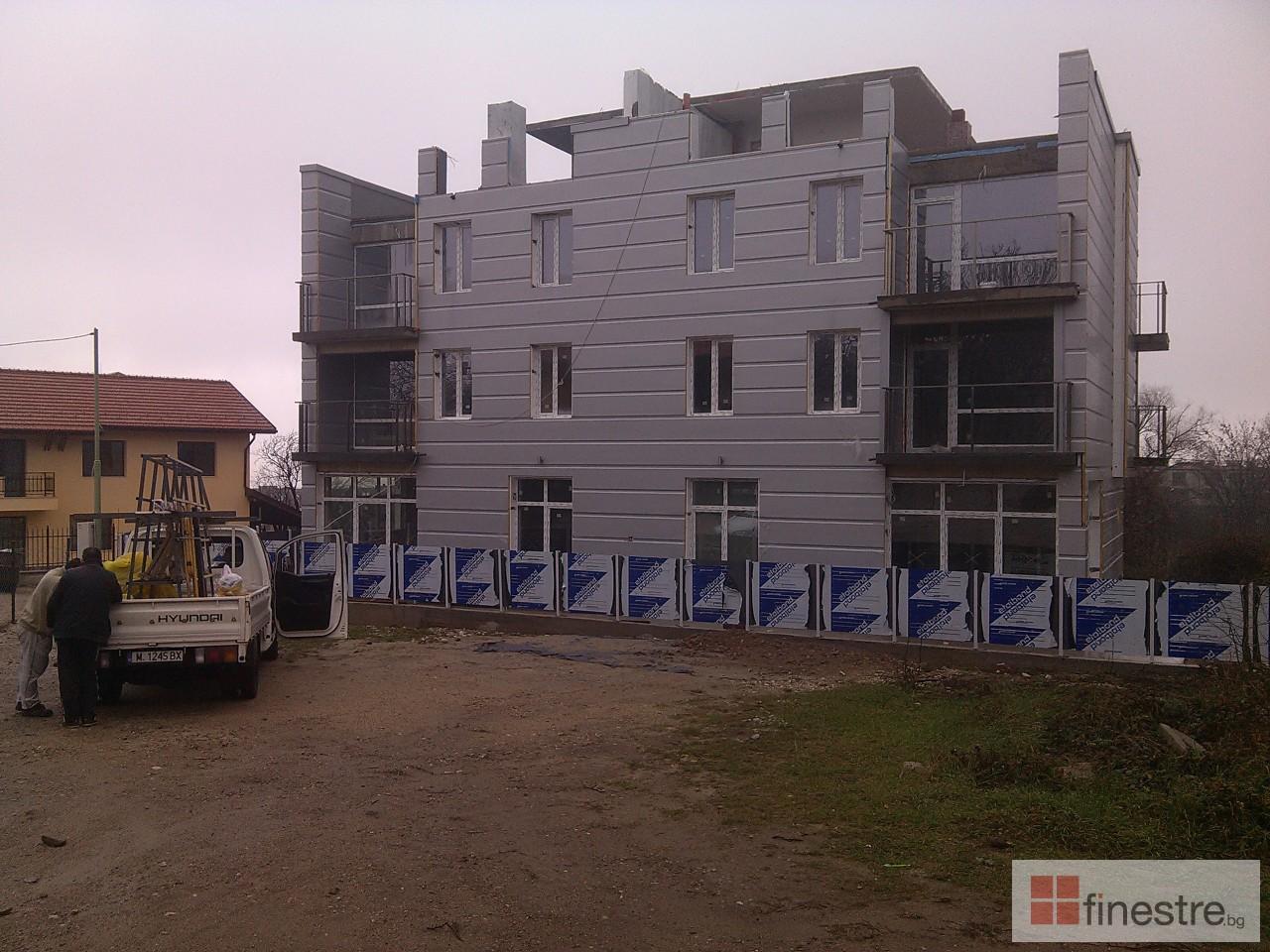PVC дограма, еталбонд, ограда, и парапети за къща в кв. Драгалевци, гр. София 0