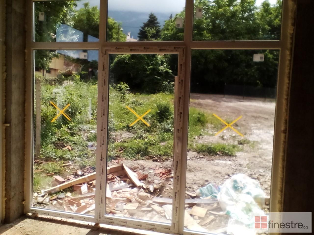 PVC дограма, еталбонд, ограда, и парапети за къща в кв. Драгалевци, гр. София 12