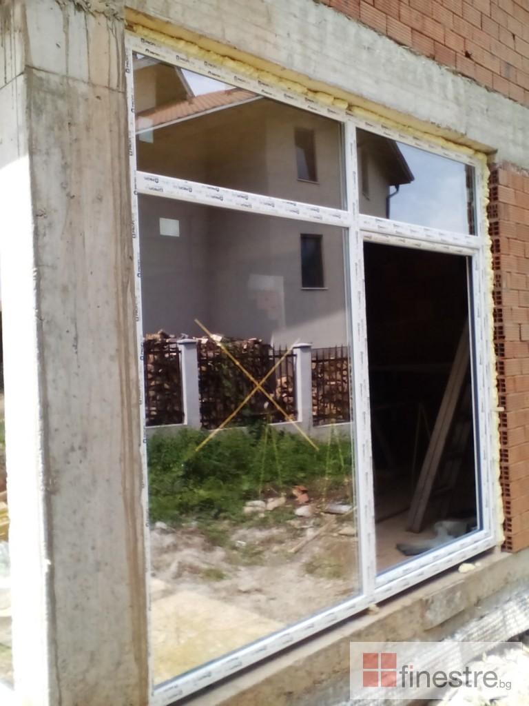 PVC дограма, еталбонд, ограда, и парапети за къща в кв. Драгалевци, гр. София 8
