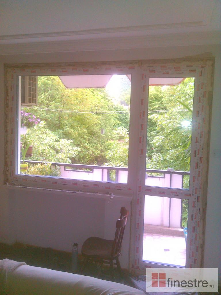 PVC дограма Reiner  88мм за къща в град Враца 0
