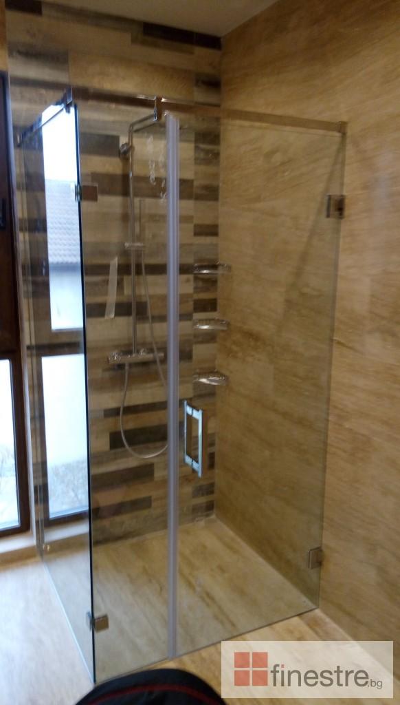 Стъклена душ кабина 0