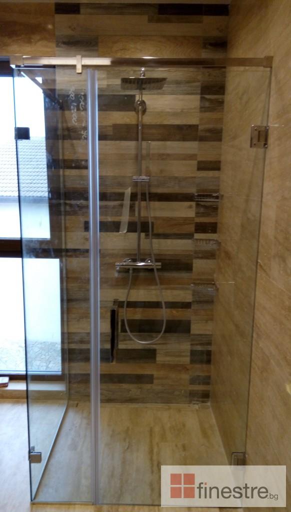 Стъклена душ кабина 1