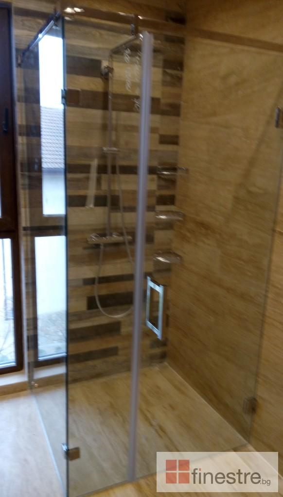 Стъклена душ кабина 2