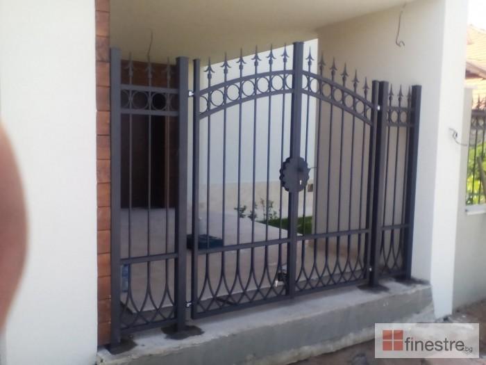 Метална ограда с портал за къща в гр. Монтана
